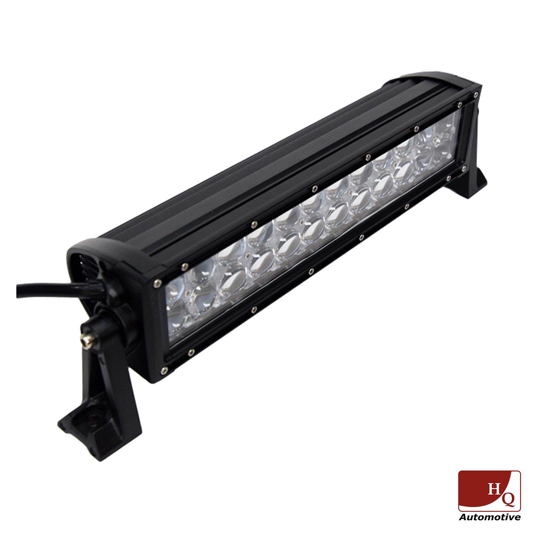 led work light bar 4x4 off road atv truck quad flood lamp 13 5 72w 24x led lighting led off. Black Bedroom Furniture Sets. Home Design Ideas