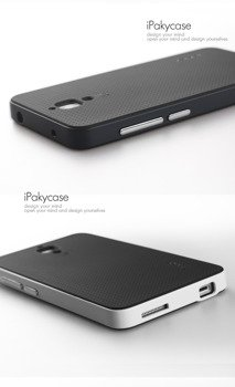Xiaomi Mi4 Cover Case with PC surround Black