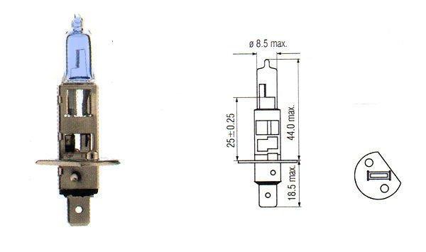 Renault 5 11 19 21 25 Twingo ULTRA XENON bulbs H4 100w