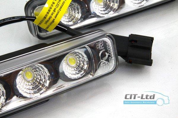 High Quality DRL Multi Shape Daytime Running Lights 10-LED CREE HQ-V20 C