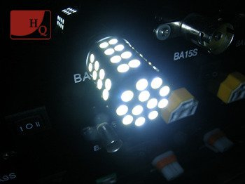 Car LED Bulb P21/5W  60x SMD-1210 Dual-Chip Dulal-colour WHITE/YELLOW