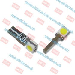 T5 2 LED Bulb SMD-5050 YELLOW