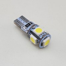 Car LED Light Bulb W5W 5x SMD-5050 CanBus BLUE